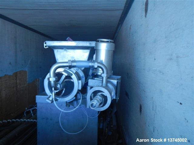 Used- Pieco Reclaim Grind Unit with Weiler Grinder