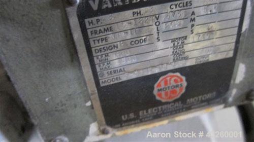 Used- Stainless Steel AMK Ram Fed Extruder