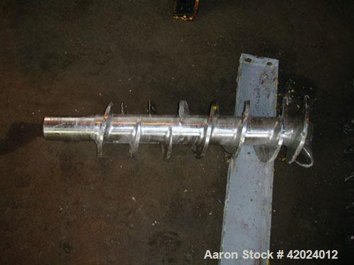 Used- Stainless Steel Bonnot Extruder, Model 8-10-1/2