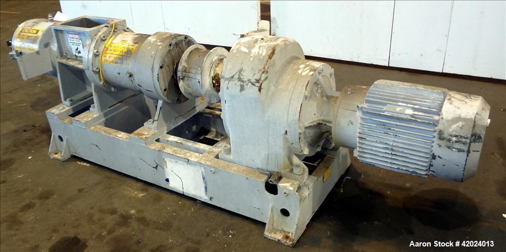 Used- Stainless Steel Bonnot Extruder, Model 8