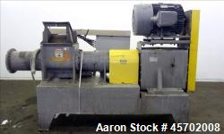 "Used- Bonnot Co. Model 10 EXT Single Screw Extruder, Carbon Steel. 10"" diameter x 72"" long screw, 7 to 1 L/D ratio. (1) Groo..."
