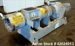 Used- Stainless Steel Bonnot Extruder, Model 8