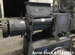 "Used- 10"" Diameter Carbon Steel Bonnot Extruder"