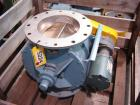 "Used-12"" diameter Young 12 HC stainless rotary valve with drive.  Overall valve height is 22"". Manufactured by Young Industr..."