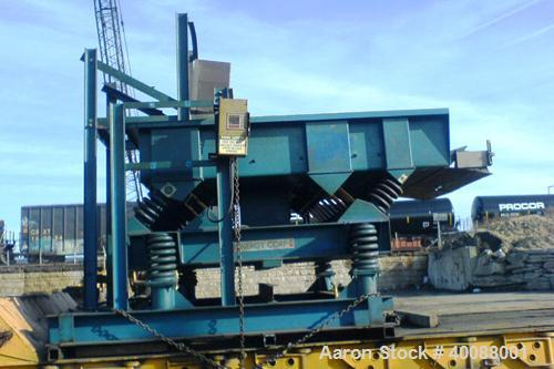 Unused-Used: Kinergy Vibratory Feeder, Model KDF-72-HD, controls the rate of flow of bulk solids from storage. The nature of...