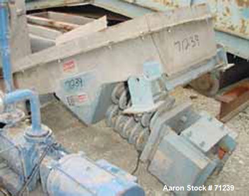 Used- Carrier Vibrating Equipment Ampli-Flow Vibrating Feeder