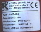 Used-K-Tron Loss In Weight Twin Screw Feeder, Kw-NL-T35. 1