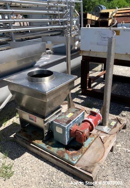 Used- Acrison Volumetric Feeder, Model 105