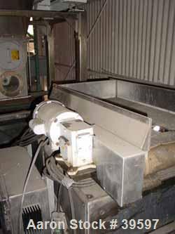 Used- Acrison Wildflow Model 203 Feeder. Capacity approximately 2 lb batches. Stainless steel construction. Hard plastic con...