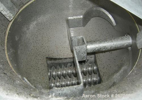 """Used- K-Tron screw type modular loss in weight feeder, model K2MLT60, 316 stainless steel. Approximately 2 1/4"""" diameter twi..."""