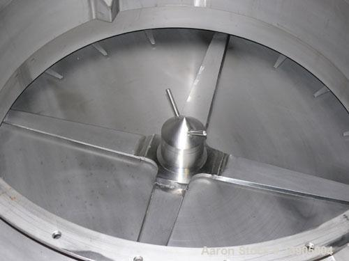 Used-LCI Circle Feeder, model CF-1000BS. 1000 mm diameter solids feeder, 304 stainless steel construction for all product co...