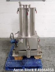 Used- Accu-Rate Stainless Steel Dry Material Feeder, Model 612.