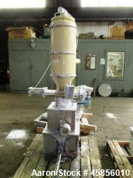 Used- Schenck Accurate Volumetric Feeder, Type MOD602M