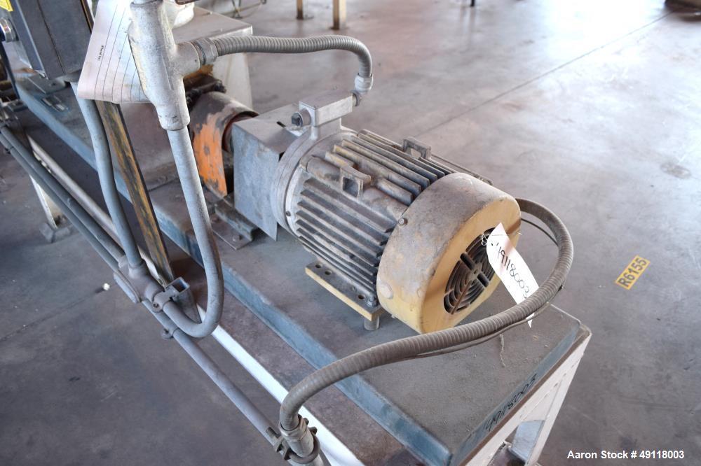 Used- MetalFab Volumetric Screw Feeder, Model DB2-6