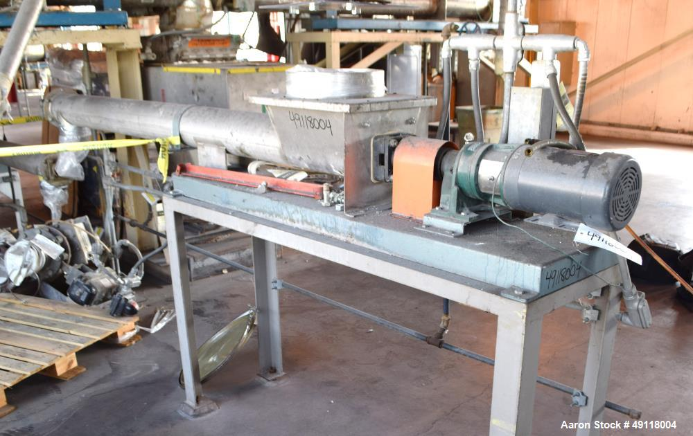 Used- MetalFab Volumetric Screw Feeder, Model DB2-6