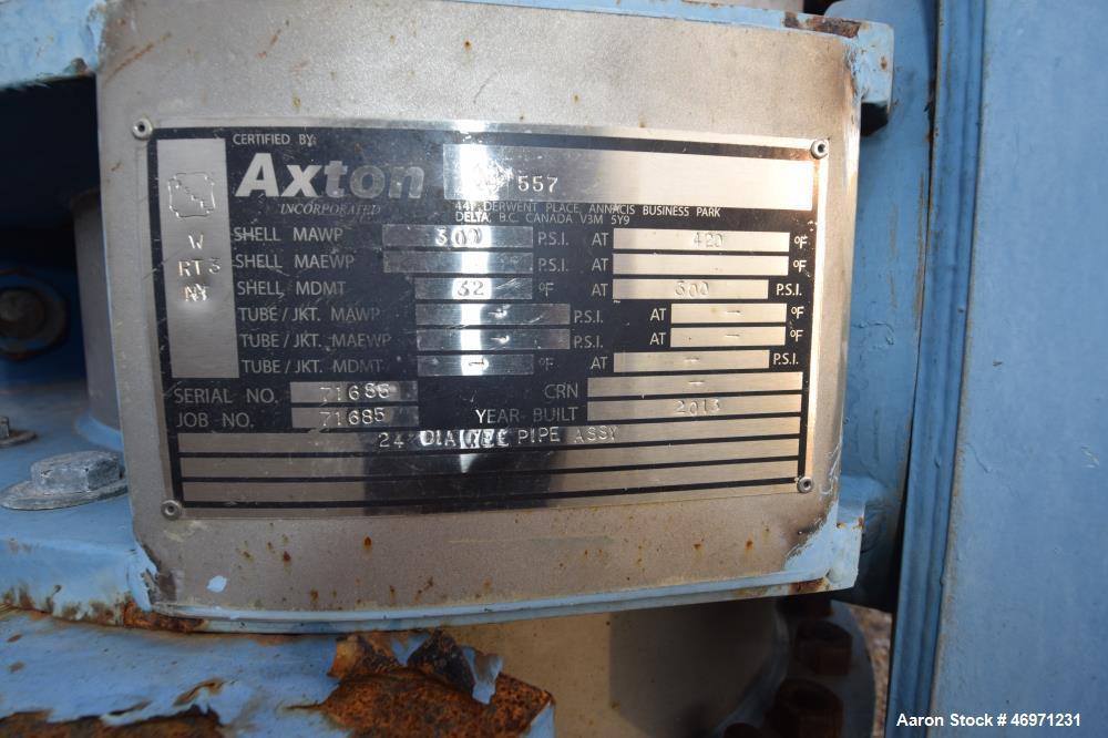 Used- Metso Single Screw Plug Feeder.