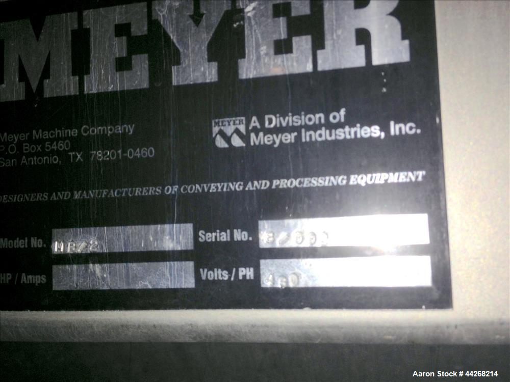 Used-Meyer Dual Station Mix/Blend, Model MB/2 ** SALE SUBJECT TO SELLER'S APPROVAL **