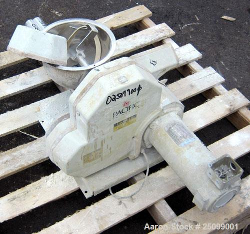 """Used- K-Tron Volumetric Twin Screw Feeder, Model K2V-T35. Approximate 428 pounds per hour output. (2) Approximate 1-3/8"""" dia..."""