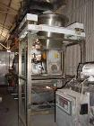 Used- K-Tron Vertical Processor, Model 8561. Stainless steel construction, sanitary product contact parts, stainless steel a...