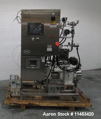 Used- One Pall Tangential Flow Membrane Filtration Skid