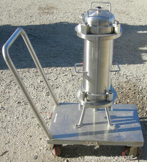 Used- Allegheny Bradford Sanitary 3 Round Opt 1 Clean Filter