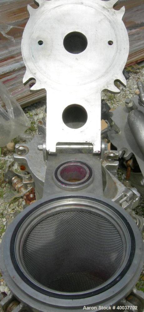 Used- Stainless Steel Cutler Metal Products Basket Strainer Filter