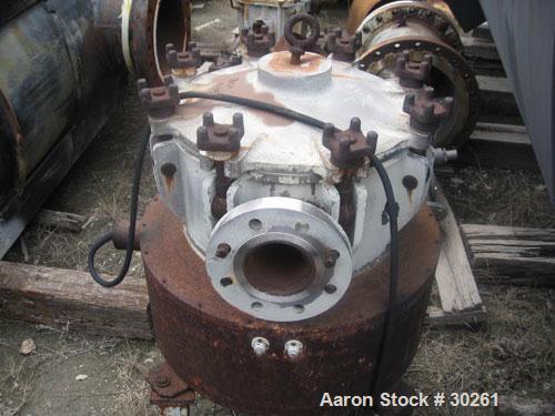 Used- Frantz Ferro Electromagnetic Separator, Model 83N1, Stainless Steel. Designed for wet separation. Rated 65 gallons per...