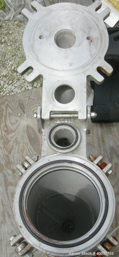 Used- Stainless Steel Mechanical Filtration Basket Strainer Filter
