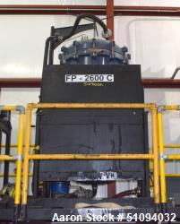 "Used- Ironhide Manufacturing Bulk Purifier Media Vessel, Model BMV-1500, Carbon Steel. Approximate 36"" diameter x 60"" straig..."
