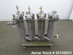 Used- Stainless Steel Cartridge Filter Housings