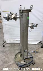 Used- Rosedale Filtration Products Model 8 Basket Strainer & Bag Filter