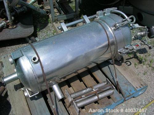 Used- Stainless Steel Memtec Filter, Model 54MS03C-316L-27CD-C150