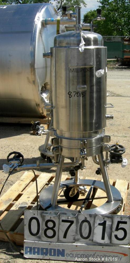 Used- Millipore Jacketed Cartridge Filter, Model CESH23080