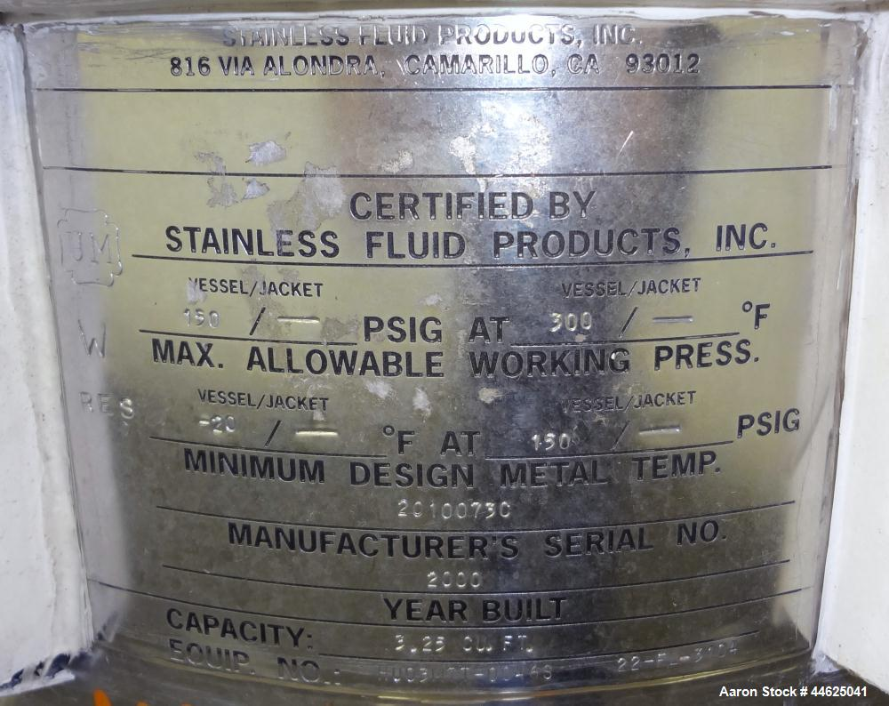 Used- Stainless Steel Stainless Fluid Products Cartridge Filter Housing
