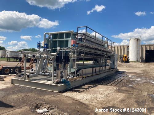 Used- Flow Press 1500mm Filter Press System