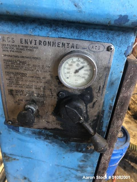 Used-ACS Environmental Hydraulic Filter Press