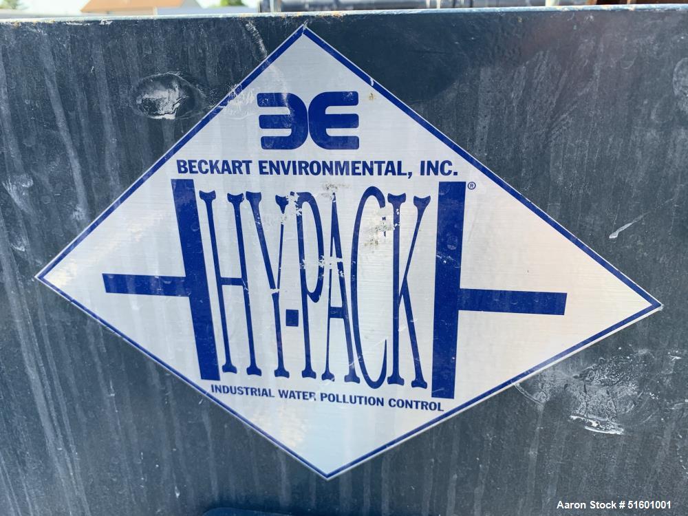 Used- Beckart Enviromental Hy-Pack Filter Press
