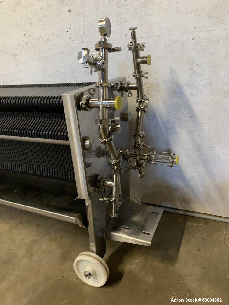 Used- Della Toffola 100 Plate Sheet Filter