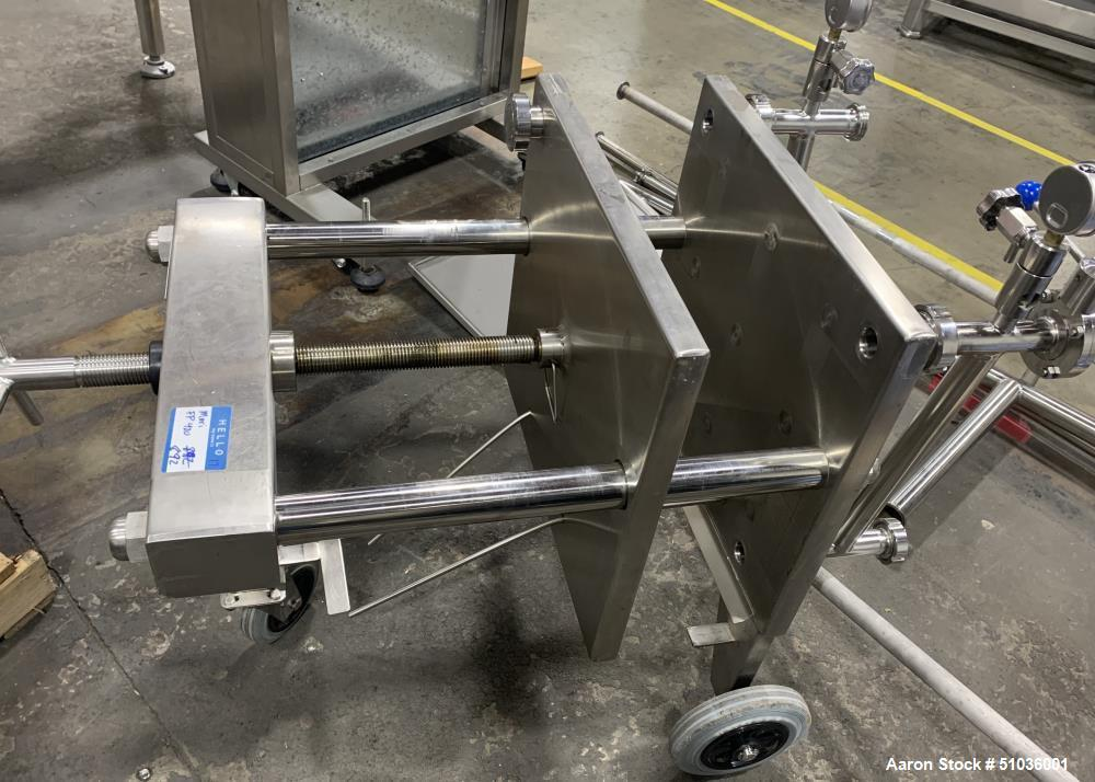 Used- Mori Filter Press, Plate and Frame Filter