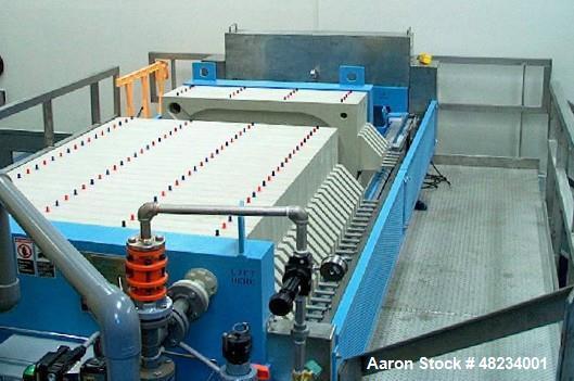 Used- Komline Sanderson Filter Press, Model K-S Avery 1200-225 LS/28-38/32