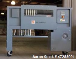 d- Terrazzco Filter Press, Model 18-5. Capable of creating one cubic foot of compressed solids. Self...