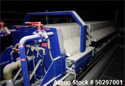 Used-Pacific Press Co. Filter Press, Model  P10E132C-40/50,  50CU.FT.  / 197.2 Surface Area. Year 2011.