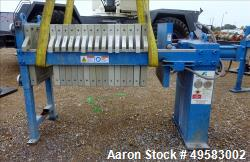 Used- Parkson Filter Press, Model AFP-630-100.