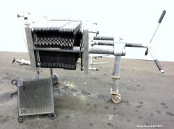 Used- Stainless Steel Seitz Polishing Press, Type V4030