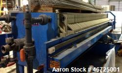 Used- Sperry Plate & Frame Filter Press, Type AHOP