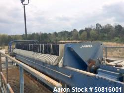 Used- US Filter Dewatering Systems JWI J-Press Filter Press
