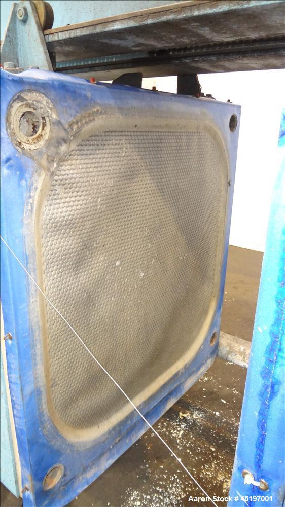 Used- Perrin Head Filter Press, Model 1000mm