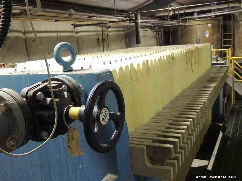 Used- Perrin Filter Press, 882 Square Feet