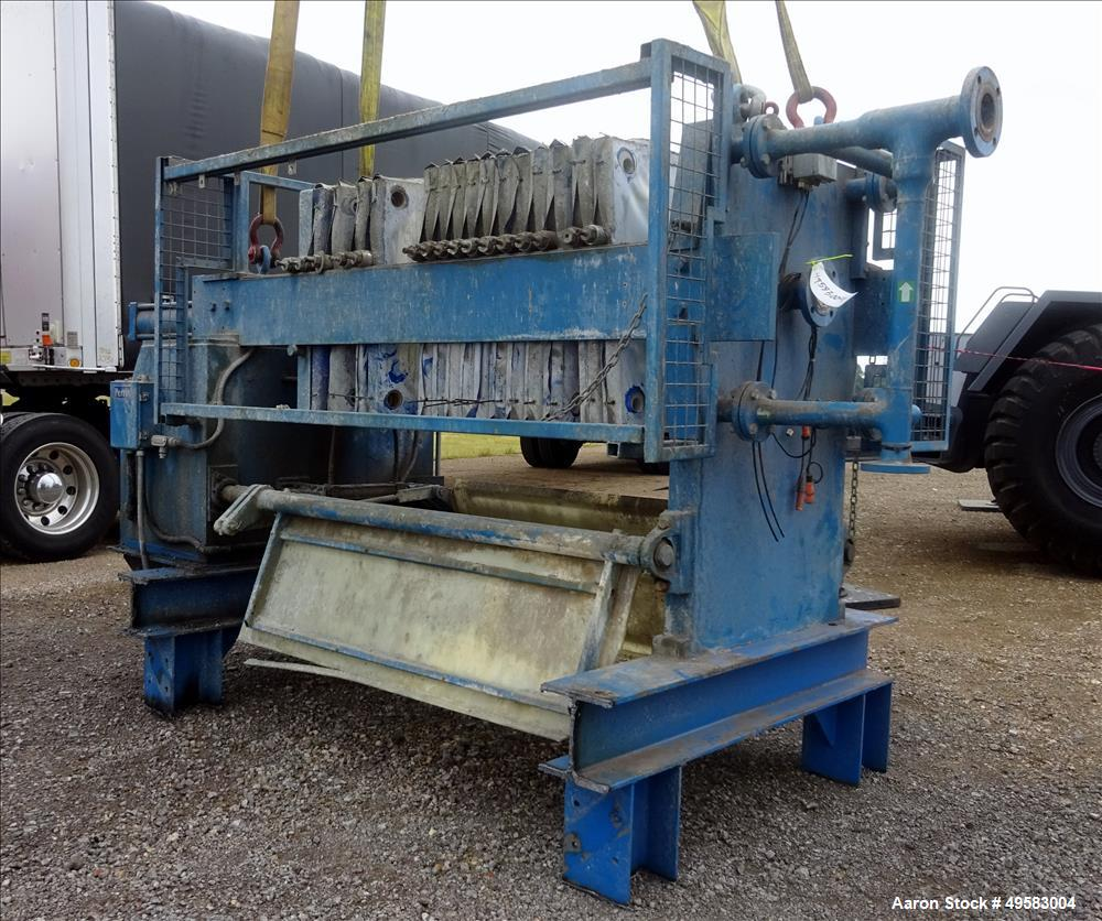 Used- Perrin Filter Press. Approximate 96 square feet