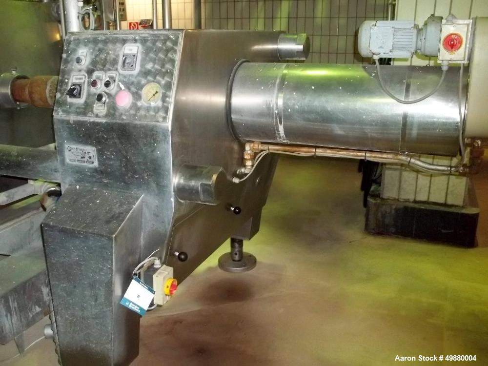 Used-Seitz filter press, type OF 100/150. 114 m2 filtration area. 350 HL/Hr. 316 stainless steel. 150 pcs of plate/frame, 10...